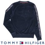 TOMMY HILFIGER トミー・ヒルフィガー 長袖 スウェット ベロア トップス AUTHENTIC VEROUR スウェット TRACK TOP LS HWK 53391657