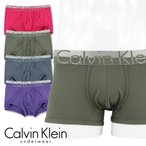 Calvin Klein カルバンクライン ボクサーパンツ ローライズ Magnetic Force Microfiber NB1196 ポイント10倍