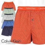 Calvin Klein カルバンクライン トランクス Woven Slim Fit Boxer U1513