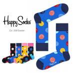 Happy Socks ハッピーソックス SMILE クルー丈 綿混 ソックス 靴下ユニセックス メンズ&レディス h605109