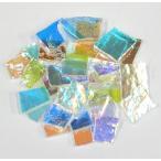 膨張係数104 ダイクロ スクラップ ガラス(クリア) 2.6Oz=75g