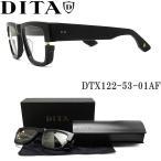 DITA ディータ メガネ フレーム DTX122-53-01AF BLK-GLD 【SEKTON】 眼鏡 クラシック 伊達メガネ 度付き ブラック メンズ
