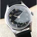 【ジャガールクルト ミリタリー WW2】アンティーク 手巻き Cal.463 メンズ腕時計 1940...