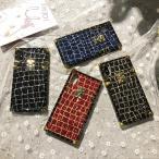 iphonex ケース キラキラ おしゃれ iphone7ケース ブランド おしゃれ iphone8 ケース  iPhone X ケース モノグラム リバース