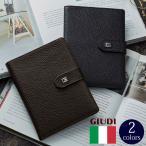 イタリア製 ソフトエンボスレザー マルチケース お薬手帳ケース  通院ウォレット パスポートケース GIUDI ジウディ