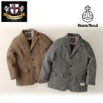 伝統の織り地、ハリスツイードで作られた英国風ジャケット