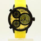 CURTIS&Co(カーティス)BIG TIME WORLD 42mm(Yellow) カーティス ビックタイムワールド42mm【腕時計】