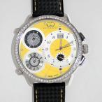 CURTIS&Co(カーティス)BIG TIME WORLD 57mm(Yellow) カーティス ビックタイムワールド57mm アフターダイヤモンド【腕時計】