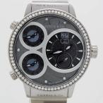 CURTIS&Co(カーティス)BIG TIME WORLD 57mm(Gray) カーティス ビックタイムワールド57mm アフターダイヤモンド〔腕時計〕