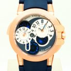 HARRYWINSTON【ハリーウィンストン】オーシャン デュアルタイム400/MATZ44R(グレー/ローズゴールド)〔腕時計〕〔中古〕