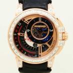 HARRYWINSTON【ハリーウィンストン】オーシャン・デュアルタイム バゲットダイヤモンド OCEATZ44RR012〔新作モデル〕〔腕時計〕〔新品〕