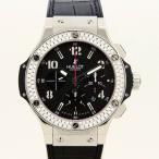 HUBLOT【ウブロ】ビッグバン スティール セラミック 301.SB.131.RX〔ブラックカーボン〕〔新品アフターダイヤベゼル〕〔ダイヤモンド〕〔腕時計〕〔メンズ〕