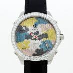 JACOB&Co ジェイコブ ファイブタイムゾーン カモフラージュデザイン(ダイヤモンド)JC-66(純正ダイヤ)〔腕時計〕〔新品〕〔メンズ〕