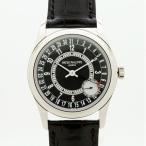 PATEK PHILIPPE(パテックフィリップ)カラトラバ(6000G-010)〔K18ホワイトゴールド〕〔グレー文字盤〕〔腕時計〕〔新品〕〔メンズ〕