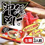 サン食品 沖縄そば(生麺)3人前 (味付三枚肉・だし付)4960785-101742x20 [その他]