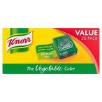 Knorr Vegetable Stock Cubes 20 per pack - (Knorr) 野菜の在庫キューブ20パックあたり [並行輸入品]