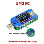 Generic RD UM25 / C USB 2.0 タイプC カラー LCD ディスプレイ テスター デジタル 電圧計 電流計 USB テスター