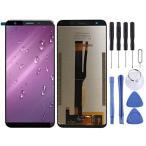 Leagoo T8用プロフェッショナル携帯電話修理部品LCDスクリーンとデジタイザフルアセンブリ(ブラック) プロの交換部品 (色 : Black)