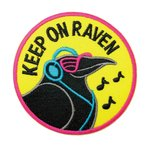 ワッペン アイロン spongebob スポンジボブ キャラクター アップリケ わっぺん アイロンで簡単貼り付け