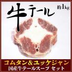 コムタン&ユッケジャン 国産牛テールスープ セット