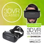 (送料無料)VR ゴーグル スマホ SHINECON VRヘッドセット VRメガネ VRシネコン ギャラクシー iphone 大型スマホ対応
