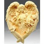 3D シリコン モールド型 百合の花を手にする エンジェル 天使型 & ローズガーランド型 ♪2点セット♪