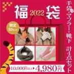 総額11000円→3980円 福袋 豪華3点セット レディース【女性用 革手袋 ネックウォーマー 5本指ソックス セット商品】