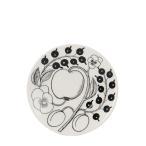 アラビア 皿 ブラック パラティッシ ブラパラ 14cm 140mm ソーサー プレート 食器 調理器具 フィンランド 北欧 柄 贈り物 64 1180006675-4 PARATIISI