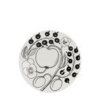 アラビア 皿 ブラック パラティッシ ブラパラ 16.5cm 165mm ソーサー プレート 食器 調理器具 フィンランド 北欧 柄 贈り物 64 1180006678-5 新生活