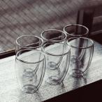 ボダム グラス ダブルウォールグラス パヴィーナ 6個セット 350mL タンブラー 保温 4559-10-12US bodum ビール 新生活