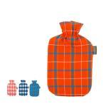 ファシー Fashy 湯たんぽ タータン 2L 6536 Tartan print covered hot water bottle 国内検針済