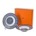エルメス Hermes ブルーダイユール スーププレート 21cm HE030113P BLEUS D AILLEURS Rim Soup Plate 高級 テーブルウェア プレート 皿 食器 新生活