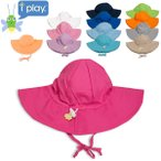 アイプレイ Iplay 帽子 サンハット 紫外線防止 UVカット サンウェア 無地 アウトドア べビー 赤ちゃん