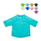 【あすつく】 アイプレイ Iplay ラッシュガード 半袖 UVカット 無地 ベビー キッズ 770100 Short Sleeve Rashguard Shirt 紫外線対策 水着 子供 プール