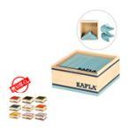 カプラ おもちゃ   魔法の板 カラーカプラ 40枚入 クアドラット おもちゃ 知育 積み木 プレゼント C40 Kapla