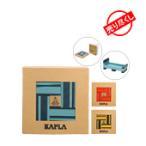 カプラ おもちゃ   魔法の板 カラー 40枚入 おもちゃ 玩具 知育 積み木 プレゼント Kapla