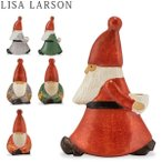 リサ・ラーソン LISA LARSON 置物 サンタトリオ ストレスサンタ / ヨガサンタ Santa trio 1040 北欧