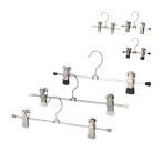 マワ Mawa ハンガー クリップ 各各10本セット 17cm 30cm マワハンガー Clip K 17/D 30/D mawaハンガー まとめ買い パンツ スカート用 収納 機能的 クローゼット