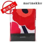 【クリアランスセール】 マリメッコ Marimekko テーブルクロス Table cloths ホワイト/レッド white/red 北欧雑貨 065761