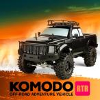 ラジコンカー オフロード 4WD 4リンク プロポセット 1/10 スケール 組立済み 塗装済み 送料無料  Gmade RTR GS01 Komodo GM54016