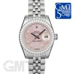 ショッピングロレックス ロレックス デイトジャスト 179384G ベゼルダイヤ ピンク ROLEX DATE JUST