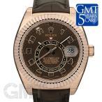 ロレックス スカイドゥエラー 326135 ブラウン ROLEX 【新品】【メンズ】 【腕時計】 【送料無料】 【年中無休】