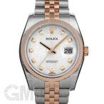 ロレックス デイトジャスト 116231G シルバーコンピュータ ROLEX 【新品】【メンズ】 【腕時計】 【送料無料】 【年中無休】