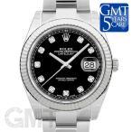 ロレックス デイトジャスト 41 126334G ブラック オイスターブレスレット ROLEX 新品 メンズ  腕時計  送料無料  年中無休