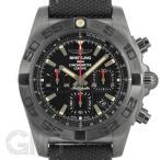 ブライトリング クロノマット 44 ブラックスチール M011B35ARB ミリタリーラバーベルト BREITLING 【新品】【メンズ】 【腕時計】 【送料無料】 【年中無休】