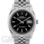 ロレックス デイトジャスト 36 126234 ブラック ジュビリーブレス ROLEX 新品メンズ 腕時計 送料無料