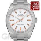 ロレックス ミルガウス 116400 ホワイト ROLEX 【中古】【メンズ】 【腕時計】 【送料無料】 【年中無休】