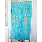 のれんおしゃれロングアジアンエスニックイスラミック暖簾アジアン部屋仕切り間仕切り目隠し廊下チャイハネ