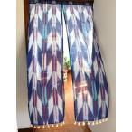 のれんロングおしゃれ暖簾目隠し間仕切り玄関キッチンアジアンチャイハネエスニック