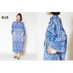 ビッグシャツドルマンスリーブワンピース羽織ロングカーディガンレディースコットン春夏秋体型カバー大きいエスニックアジアンファッション